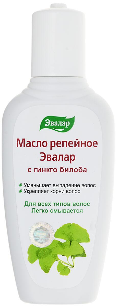 Эвалар Масло репейное с Гинкго Билоба 100 мл (усиливает кровообращение) гинкго билоба 40 мг 40 эвалар