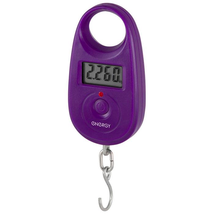 Портативные весы Energy BEZ-150, Purple54 011635Energy BEZ-150 - это современный электронный безмен, который поможет определить вес груза в бытовых условиях. Устройство отличается широкими функциональными возможностями, практичностью в использовании, надежностью, предельной точностью измерения и компактными габаритами. Благодаря последнему, безмен, в случае необходимости, всегда можно взять с собой.