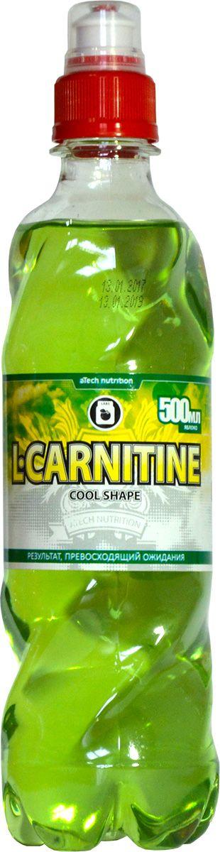 "L-карнитин aTech Nutrition ""L-Carnitine Cool Shape"", яблоко, 500 мл"