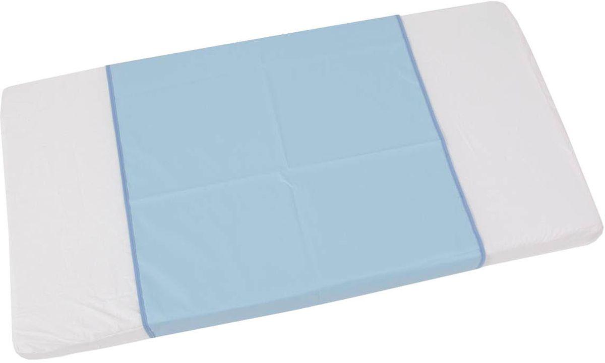 Фея Клеенка подкладная цвет голубой 68 х 100 см фея клеенка подкладная совы цвет белый голубой 48 х 68 см