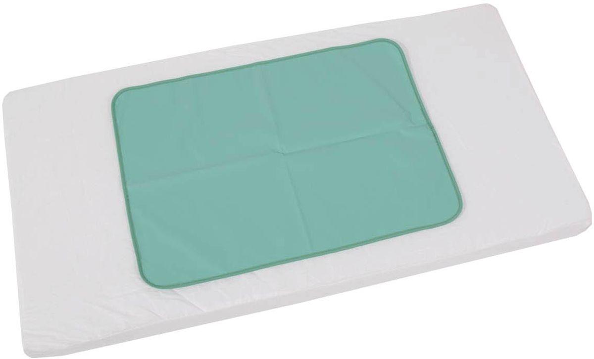Фея Клеенка подкладная цвет зеленый 48 х 68 см фея клеенка подкладная совы цвет белый голубой 48 х 68 см