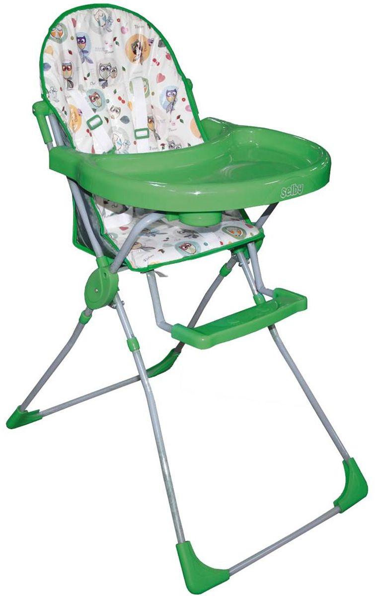 Стульчик для кормления Selby 252 Яркий луг, зеленый стульчик для кормления selby 252 розовый