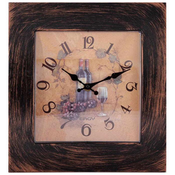 Engy ЕС-20, Brown Black настенные часы часы настенные engy d300мм