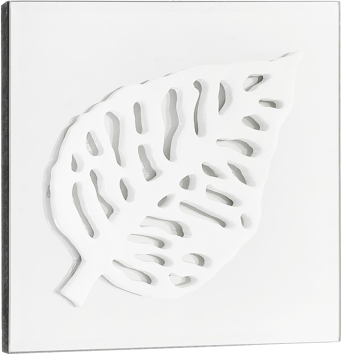 """Украшение декоративное Феникс-Презент """"Листик"""", настенное, 24 x 24 x 2,3 см"""