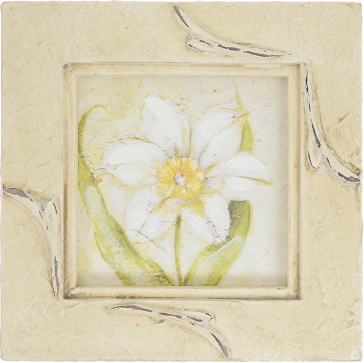 """Картина-репродукция Феникс-Презент """"Нарцисс"""", 17,8 х 17,8 х 2 см"""