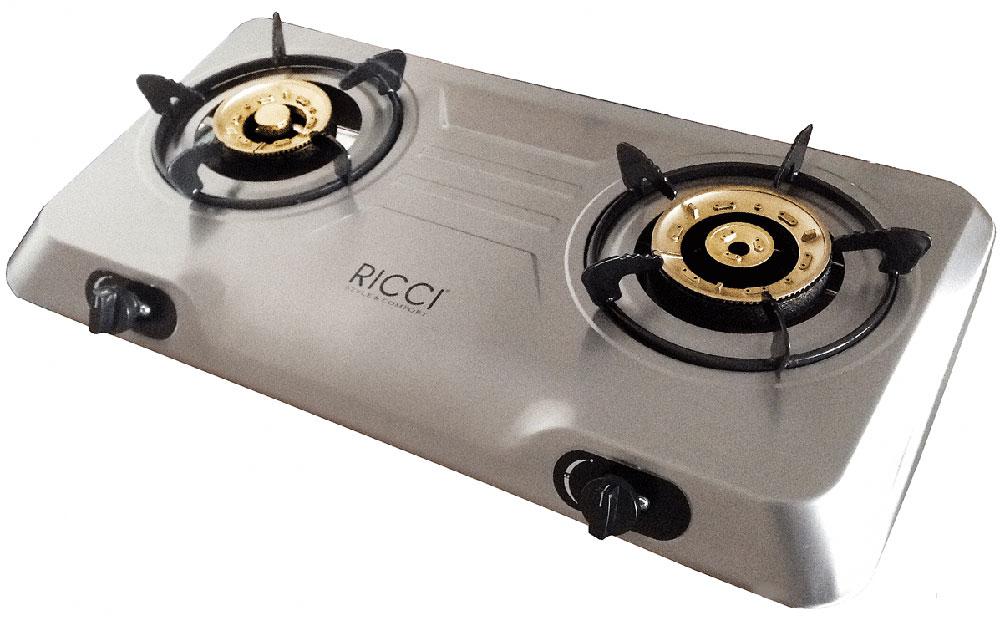Настольная плита Ricci RGH-702C, Silver
