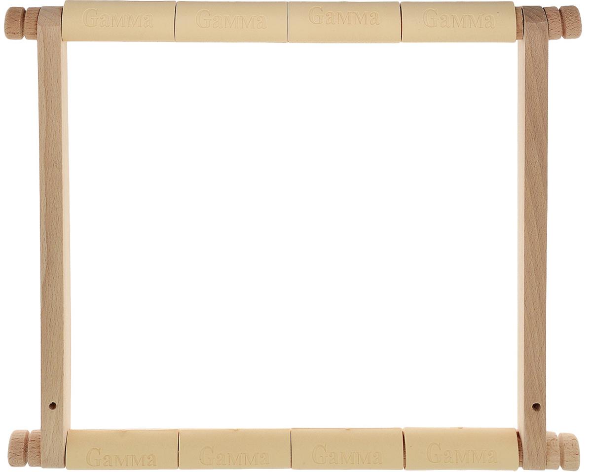 цена на Пяльцы-рамка Gamma, с клипсой, 30 х 30 см