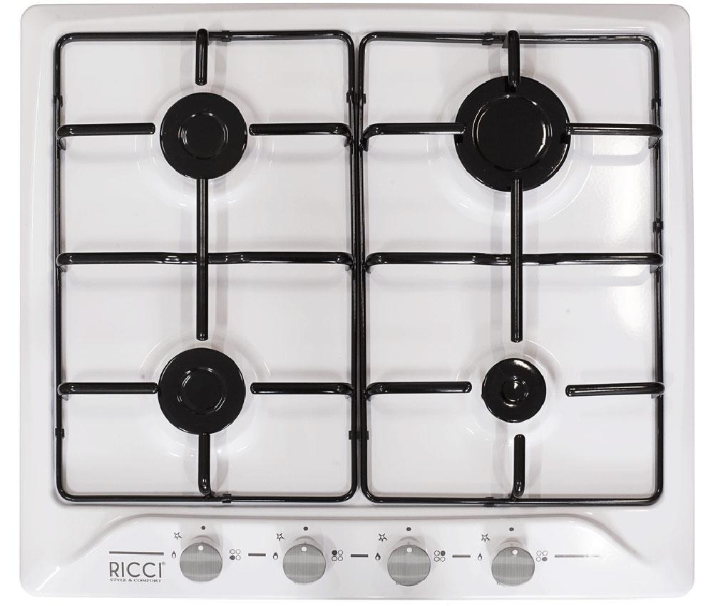 Ricci RGN-610WH, White варочная панель