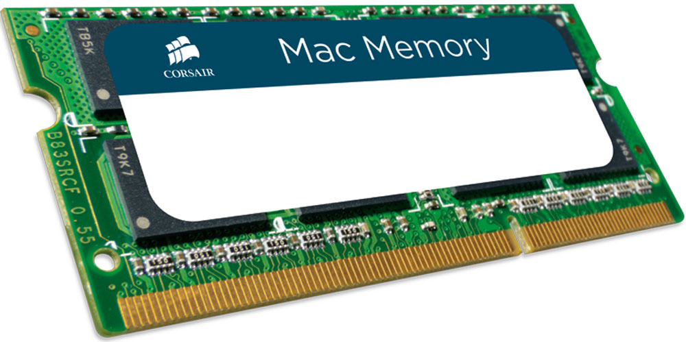 Модуль оперативной памяти Corsair Mac Memory DDR3 4Gb 1066 МГц (CMSA4GX3M1A1066C7) компьютер apple mac pro md878ru a