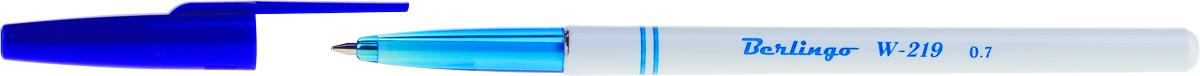 Berlingo Набор шариковых ручек W-219 цвет чернил синий 50 шт набор шариковых ручек berlingo g 07 цвет чернил синий 12 шт