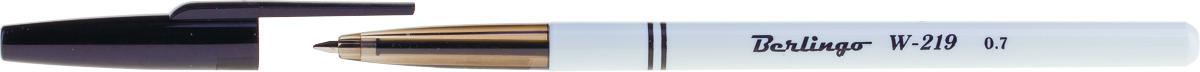 Berlingo Набор шариковых ручек W-219 цвет чернил черный 50 шт набор шариковых ручек berlingo g 07 цвет чернил синий 12 шт