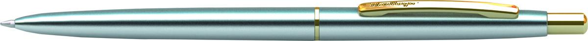 Berlingo Ручка шариковая Golden Prestige цвет корпуса серебристый золотистый ручка шариковая для тебя цвет корпуса красный золотистый цвет чернил синий