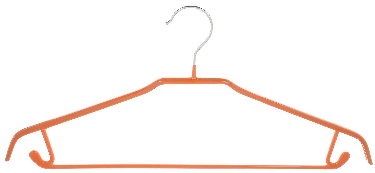 Вешалка универсальная Attribute Hanger Neo, цвет: оранжевый, длина 43 см вешалка универсальная attribute hanger classic прямая длина 44 см