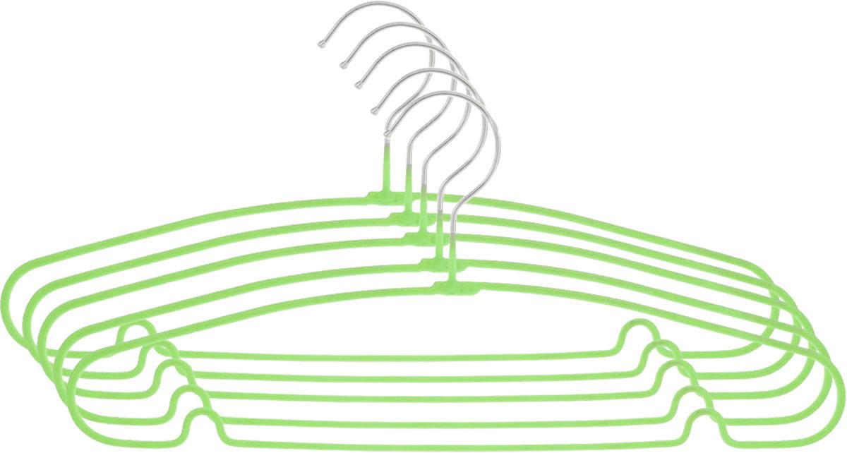 Вешалка Attribute Hanger Home, цвет: желтый, длина 40 см, 5 шт вешалка attribute hanger home цвет зеленый длина 40 см 5 шт