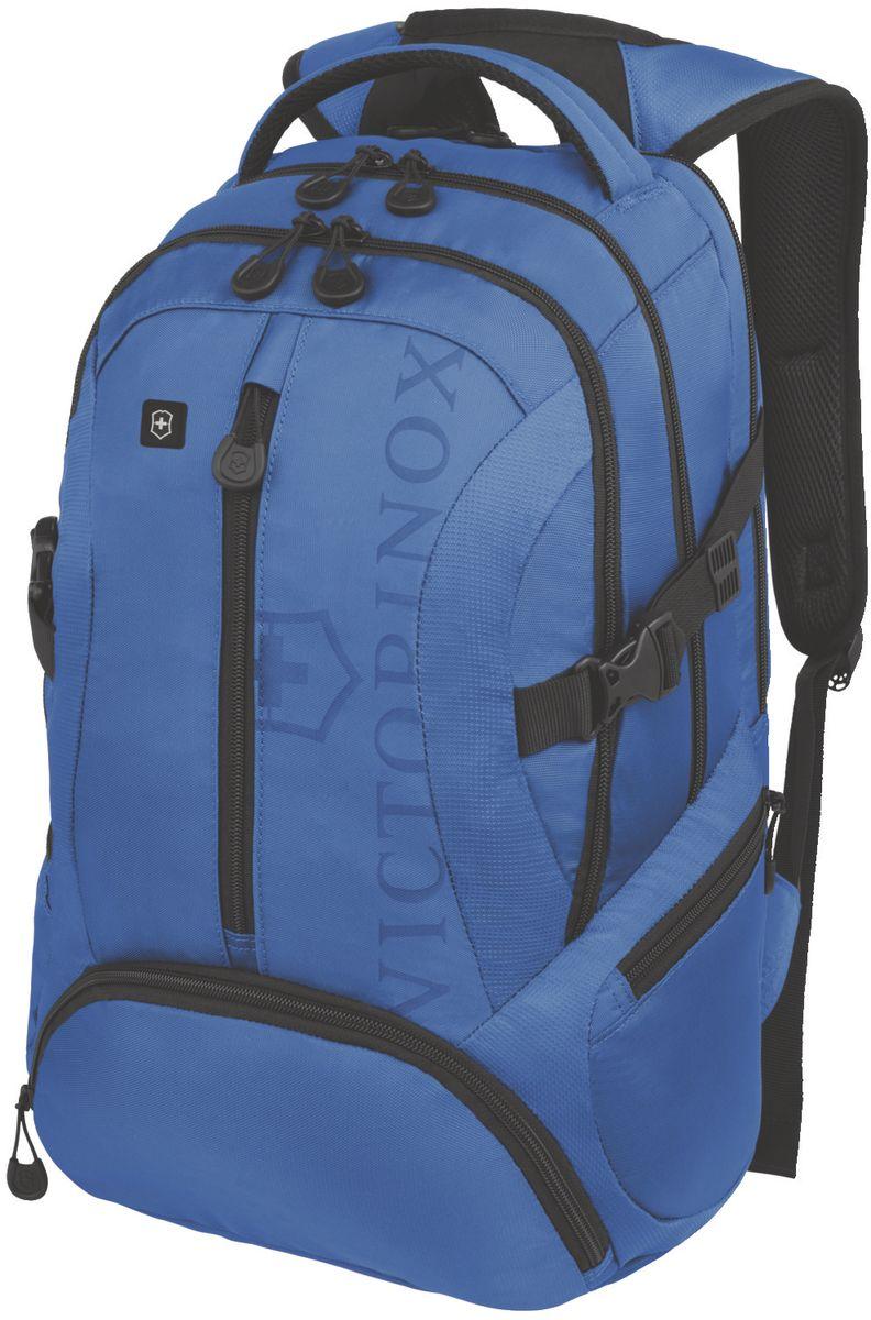 Рюкзак городской Victorinox VX Sport Scout, цвет: голубой, 20 л + ПОДАРОК: нож-брелок Escort рюкзак городской victorinox vx sport cadet цвет голубой 20 л подарок нож брелок escort