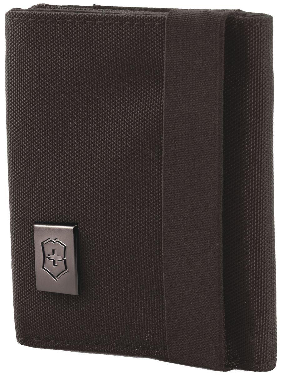 Бумажник Victorinox Lifestyle Accessories 4.0 Tri-Fold Wallet, цвет: темно-коричневый, 6 л бумажник victorinox tri fold wallet 11 10 см