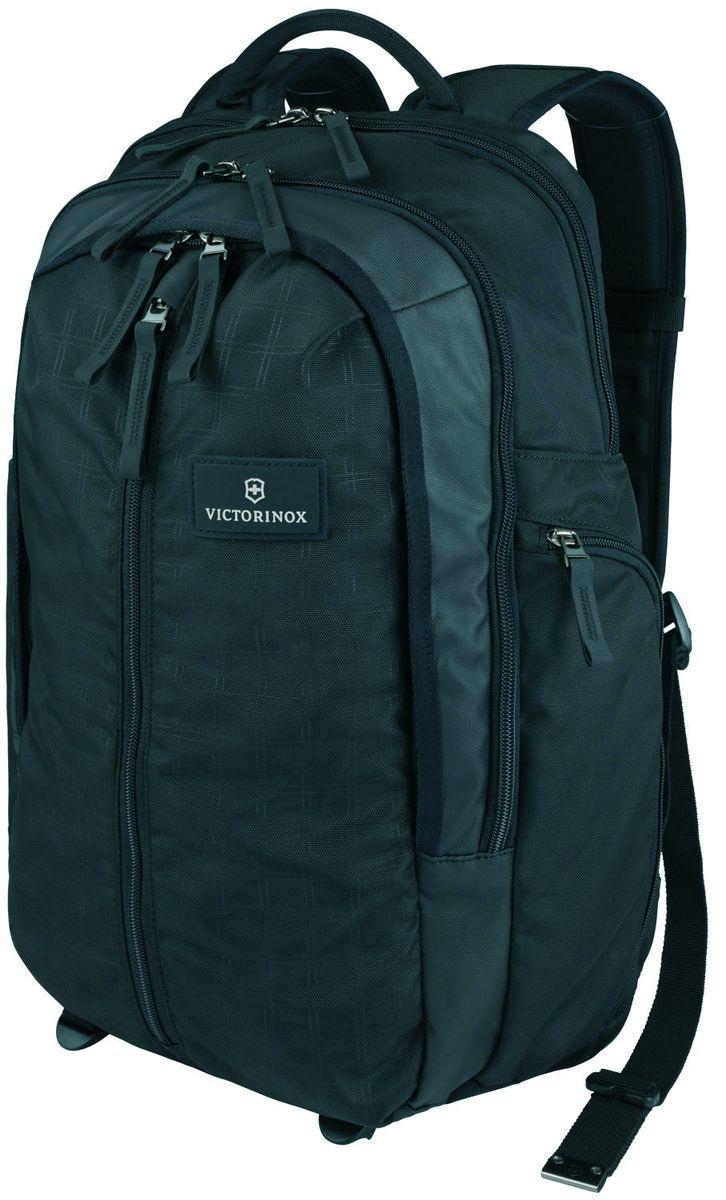 Рюкзак городской Victorinox Altmont 3.0 Vertical-Zip Backpack, цвет: черный, 29 л + ПОДАРОК: нож-брелок Escort рюкзак городской victorinox vx sport cadet цвет голубой 20 л подарок нож брелок escort