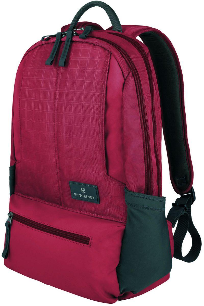 Рюкзак городской Victorinox Altmont 3.0 Laptop Backpack, цвет: красный, 25 л + ПОДАРОК: нож-брелок Escort цена