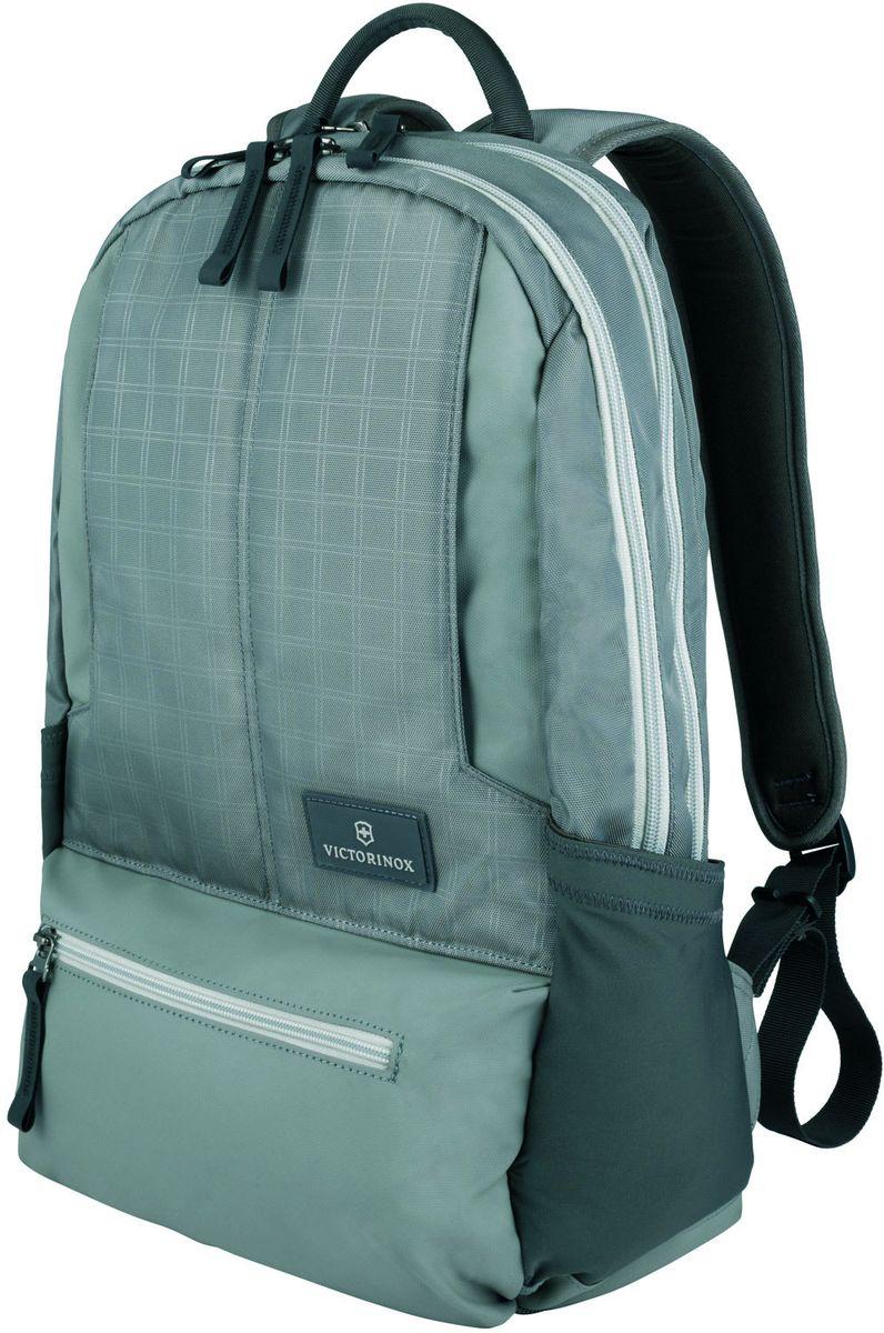 Рюкзак городской Victorinox Altmont 3.0 Laptop Backpack, цвет: серый, 25 л + ПОДАРОК: нож-брелок Escort рюкзак victorinox рюкзак altmont 32389004