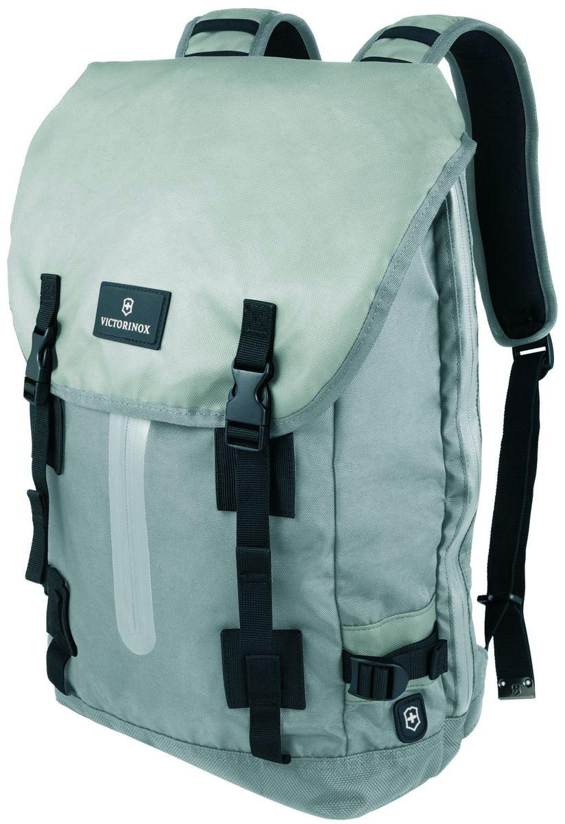 Рюкзак городской Victorinox Altmont 3.0 Laptop Backpack, цвет: серый, 19 л + ПОДАРОК: нож-брелок Escort рюкзак городской victorinox vx sport cadet цвет голубой 20 л подарок нож брелок escort