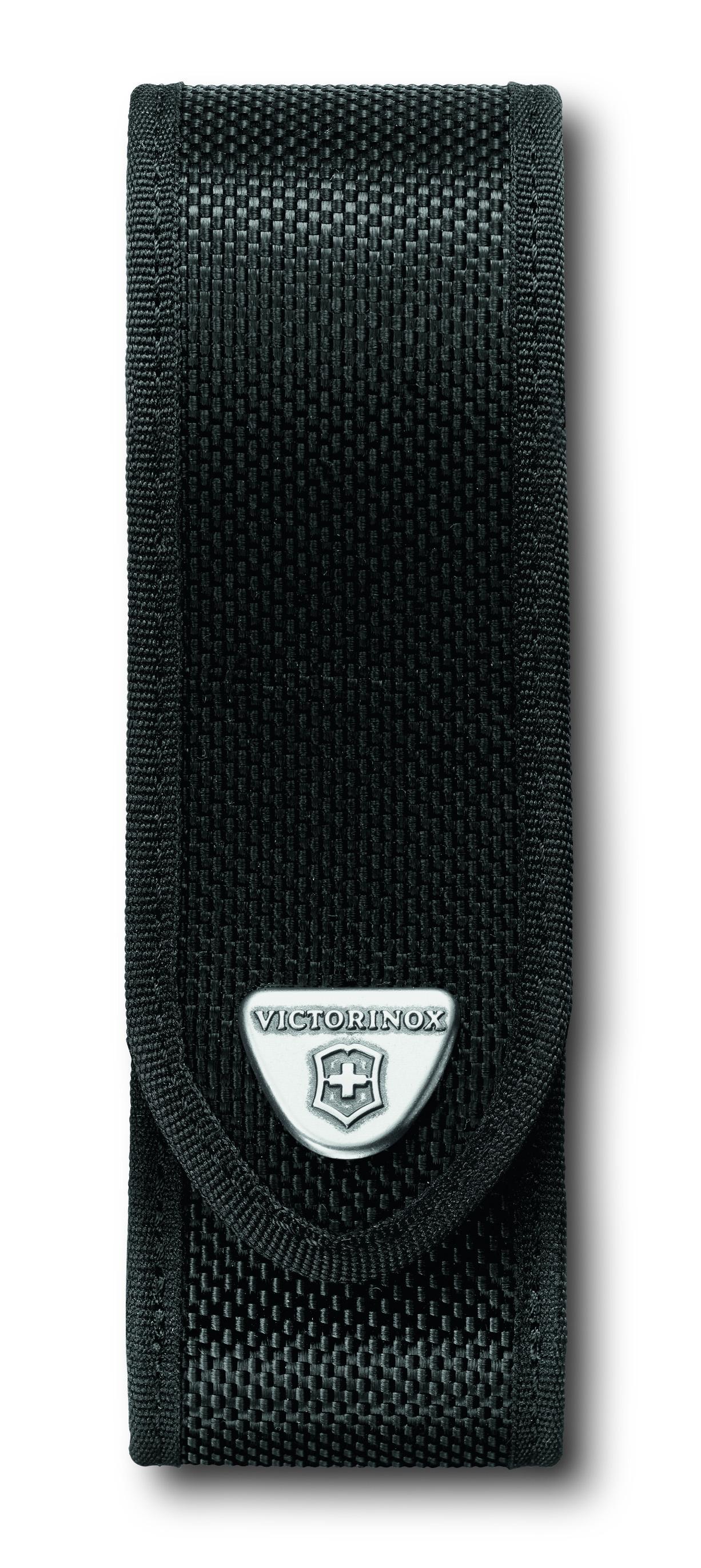 Чехол для ножей Victorinox RangerGrip, на ремень, на липучке, цвет: черный, 4 х 4 х 14 см. 4.0506.N