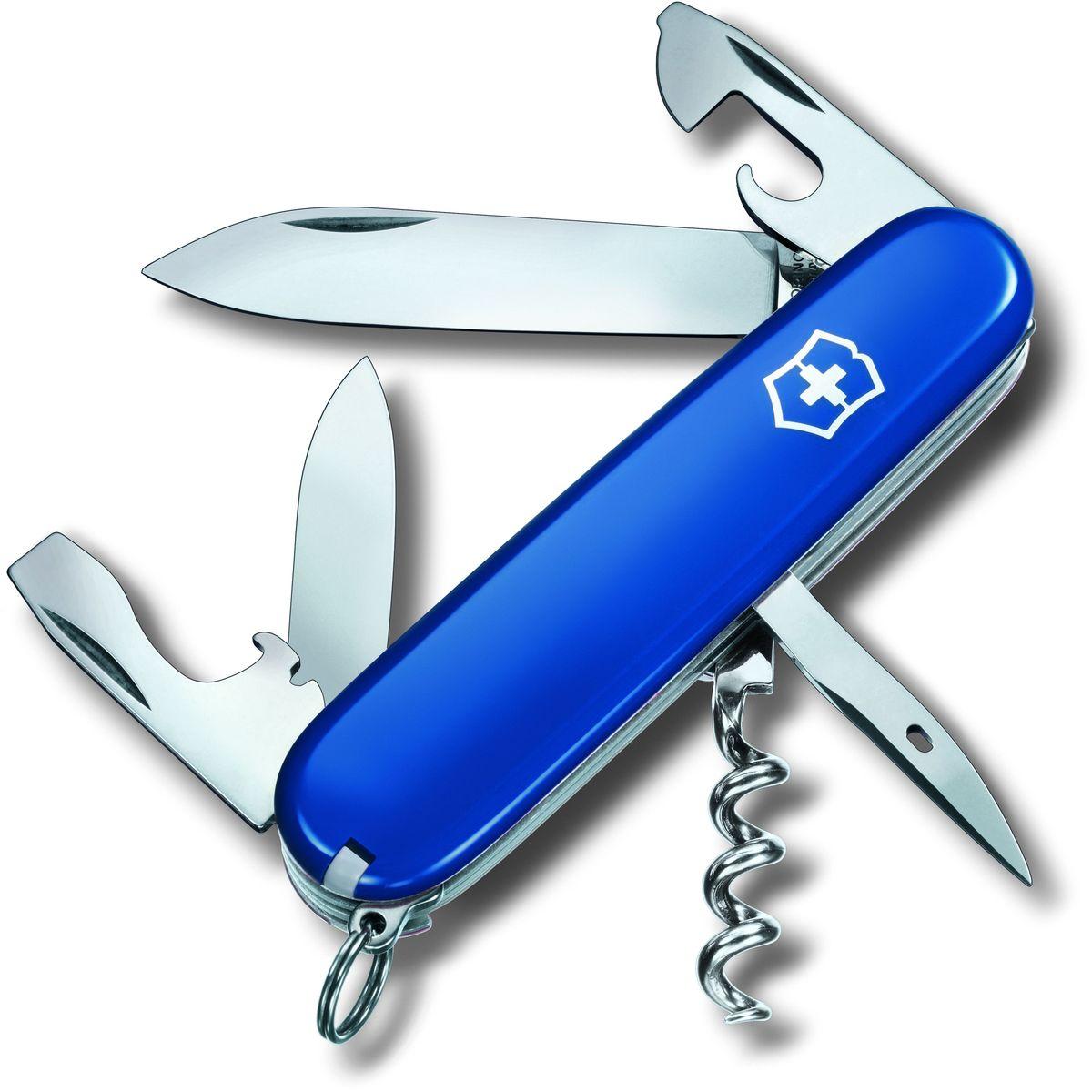 """Нож перочинный Victorinox """"Spartan"""", 12 функций, цвет: синий, длина 9,1 см"""