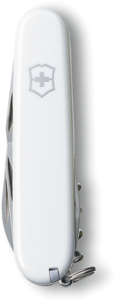 Нож перочинный Victorinox Spartan, 12 функций, цвет: белый, длина 9,1 см