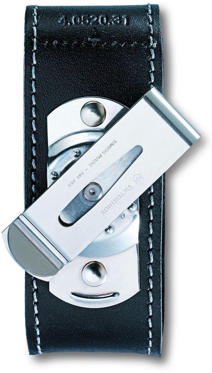 """Чехол для ножей """"Victorinox"""", на ремень, цвет: черный, 10 см х 3,7 см"""