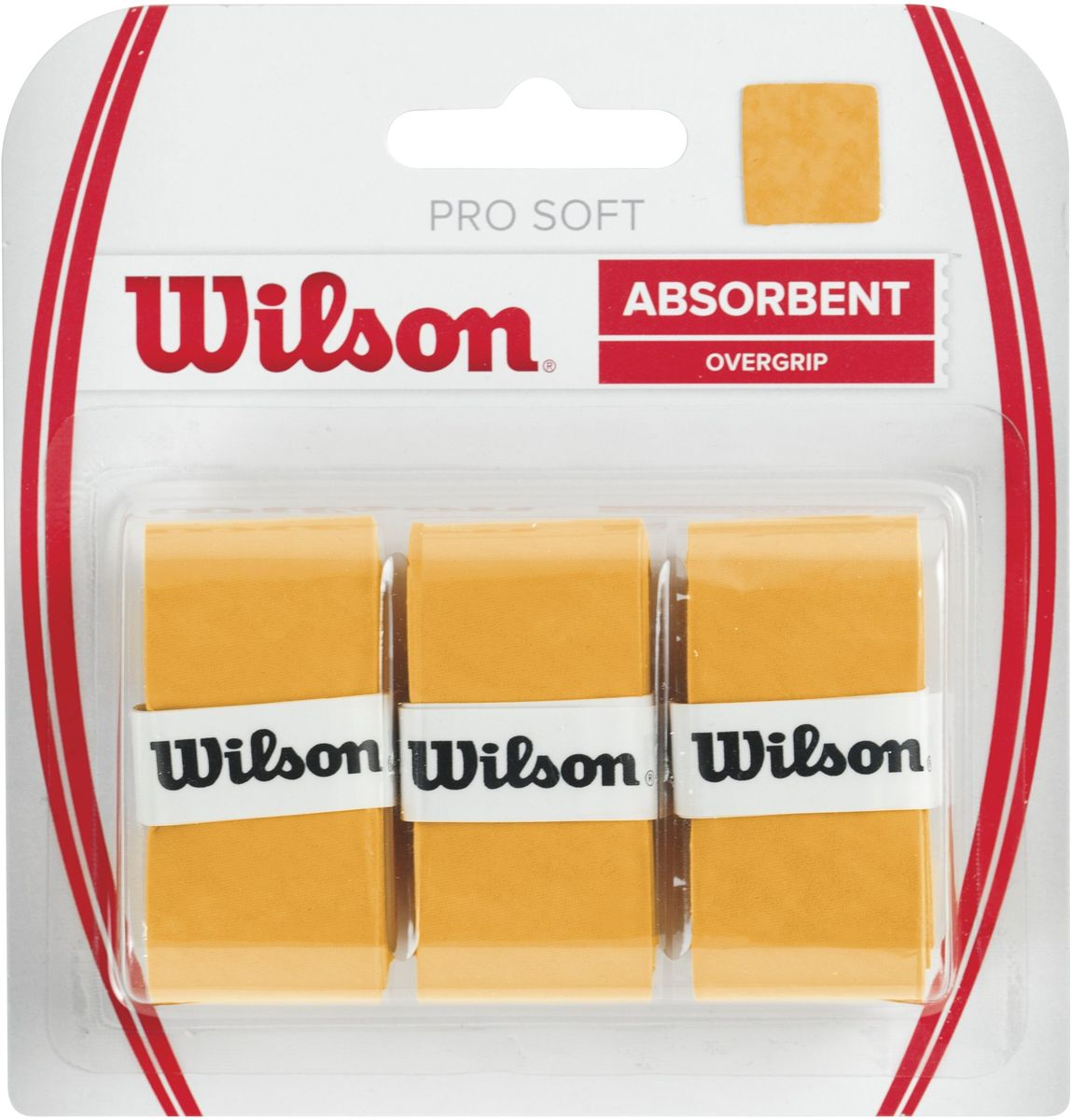 Обмотка Wilson Pro Soft Overgrip, цвет: золотой