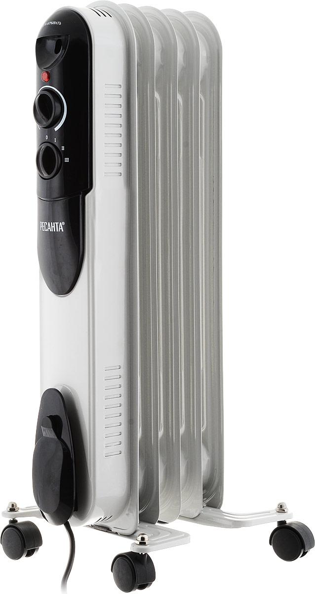 лучшая цена Ресанта ОМПТ-5Н (1 кВт) напольный радиатор