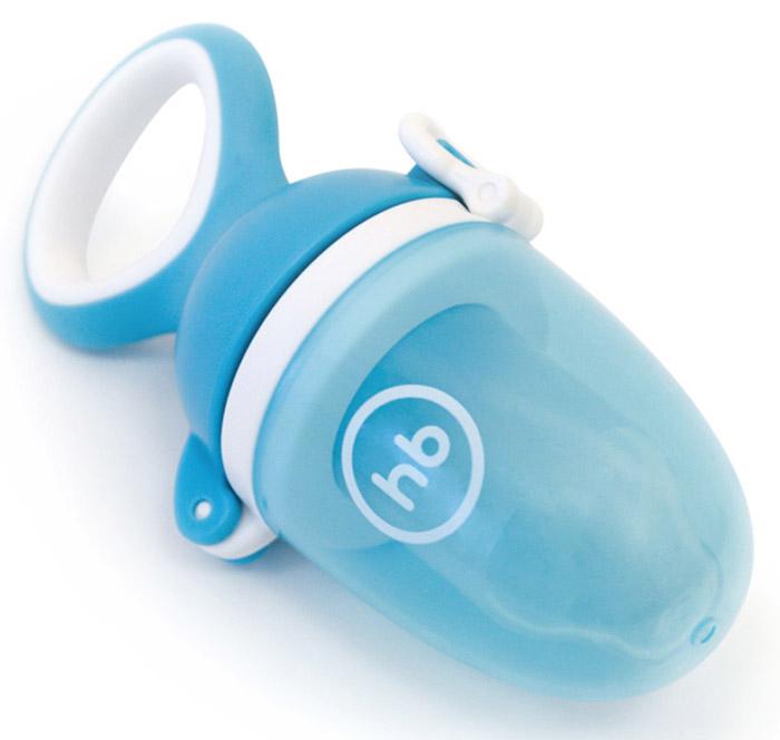 Happy Baby Ниблер силиконовый Nibbler Twist цвет голубой
