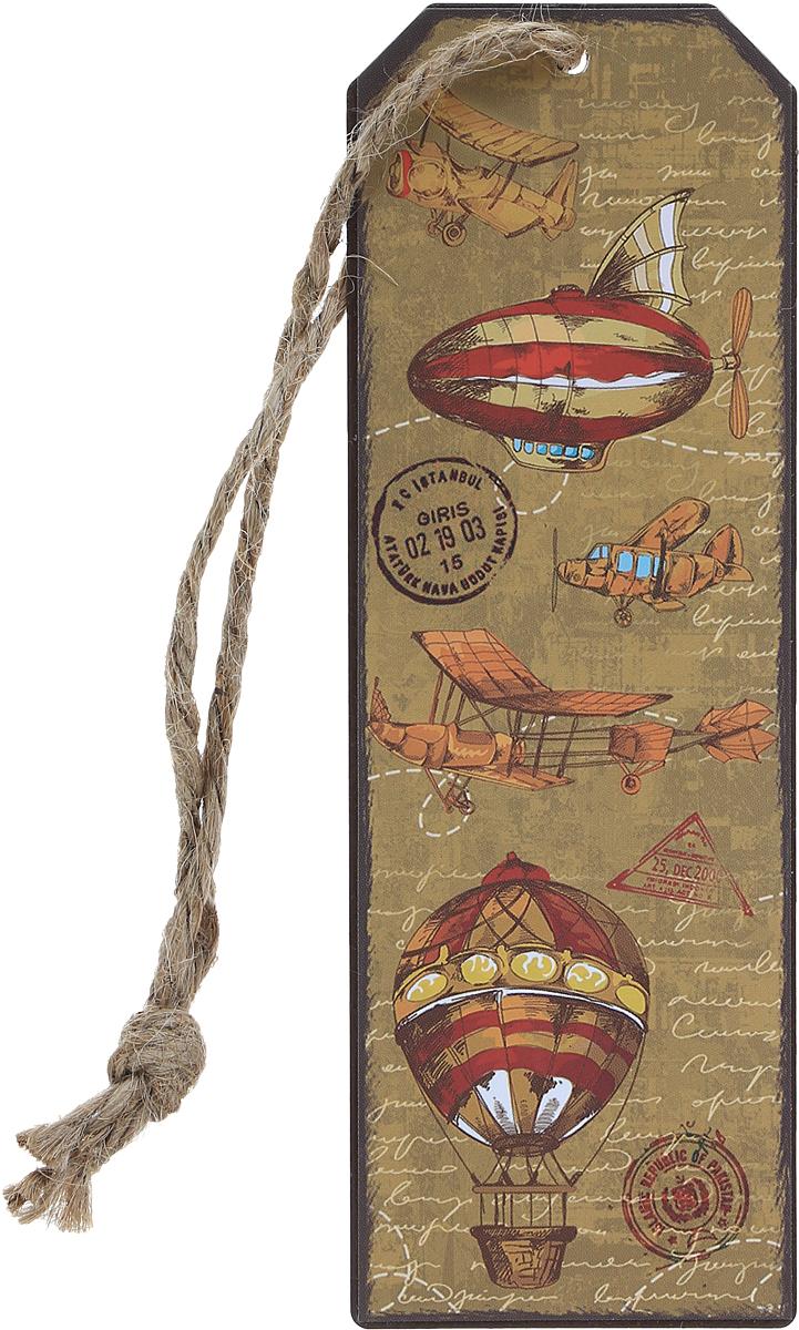 Magic Home Закладка декоративная для книг Самолеты и дирижабли