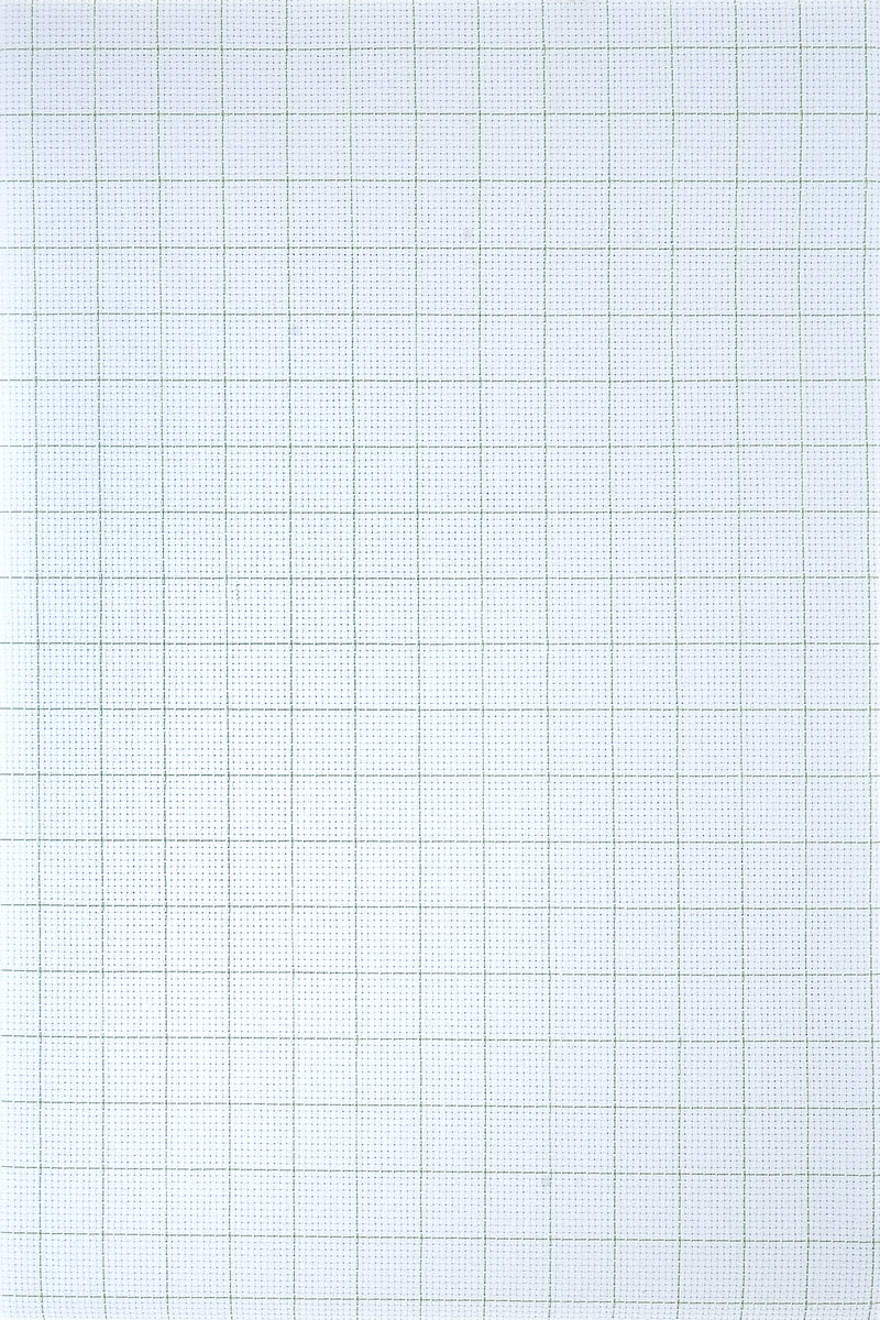 """Канва для вышивания Gamma """"Aida №14"""", цвет: белый, 150 х 100 см"""