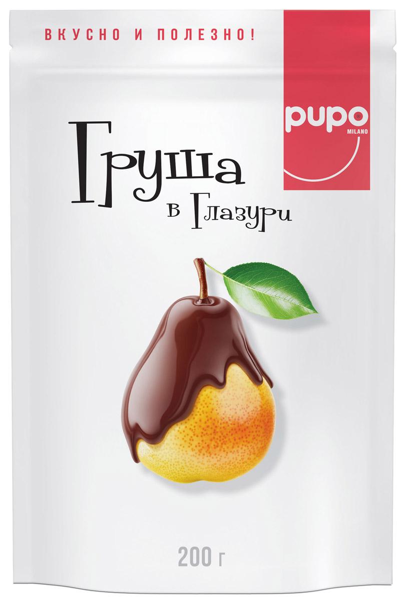 Pupo конфеты Груша в глазури, 200 г цена
