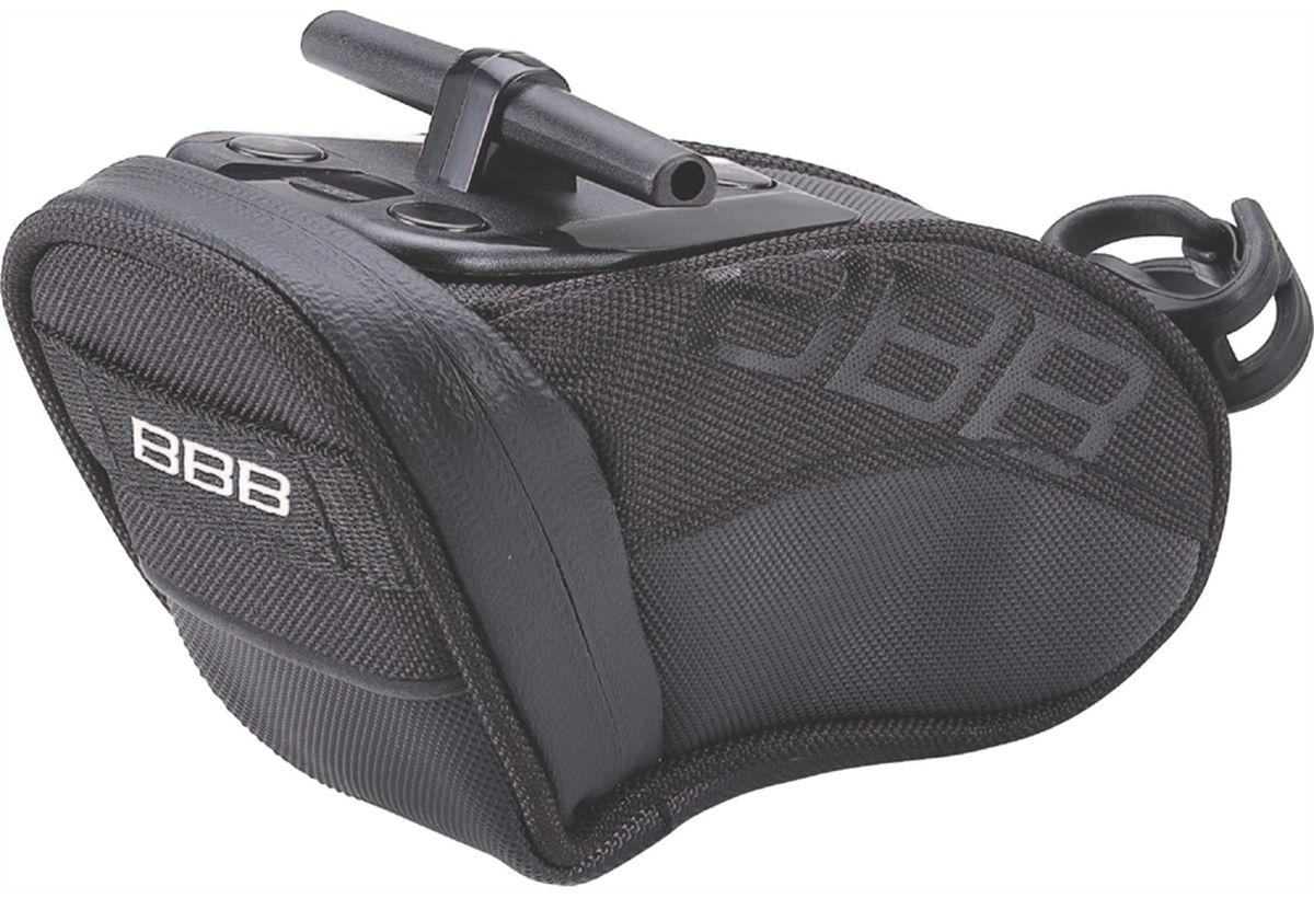 Велосумка под седло BBB CurvePack, цвет: черный. Размер S