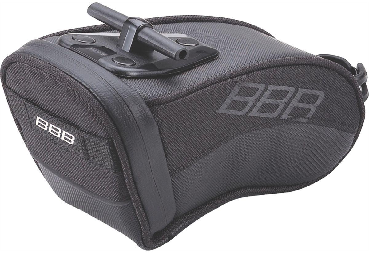 Велосумка под седло BBB CurvePack, цвет: черный. Размер L