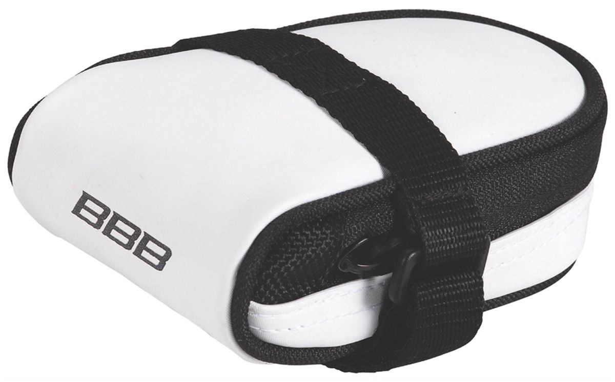 Велосумка под седло BBB RacePack, цвет: белый