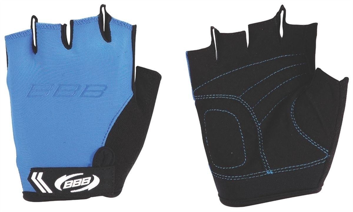 Перчатки велосипедные BBB Kids, цвет: синий, черный. Размер S перчатки велосипедные bbb kids цвет синий черный размер m