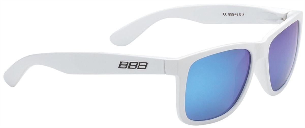 Очки солнцезащитные BBB Street PZ PC MLC Polarised Lenses, цвет: белый