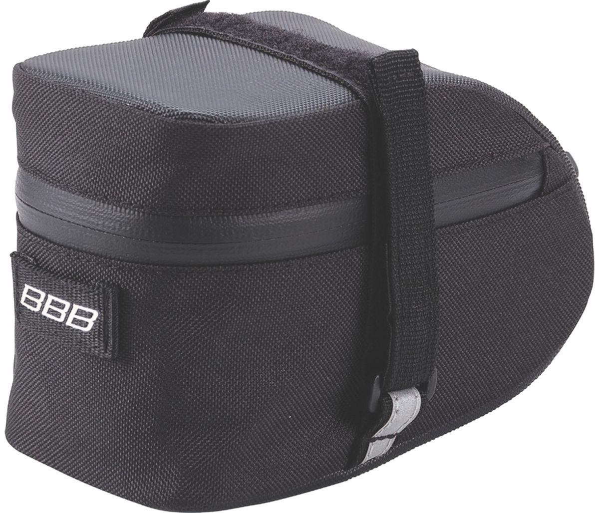 "Велосумка под седло BBB ""EasyPack"", цвет: черный. Размер M"