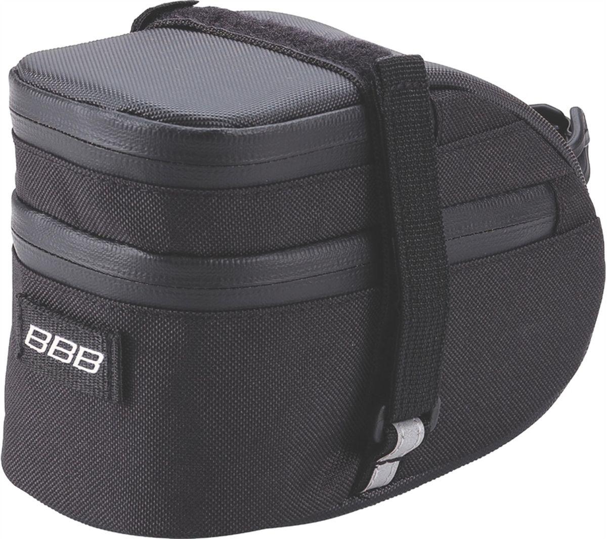 """Велосумка под седло BBB """"EasyPack"""", цвет: черный. Размер L"""