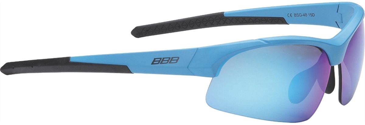 Очки солнцезащитные BBB Impress Small PC Smoke Blue Lenses, цвет: синий