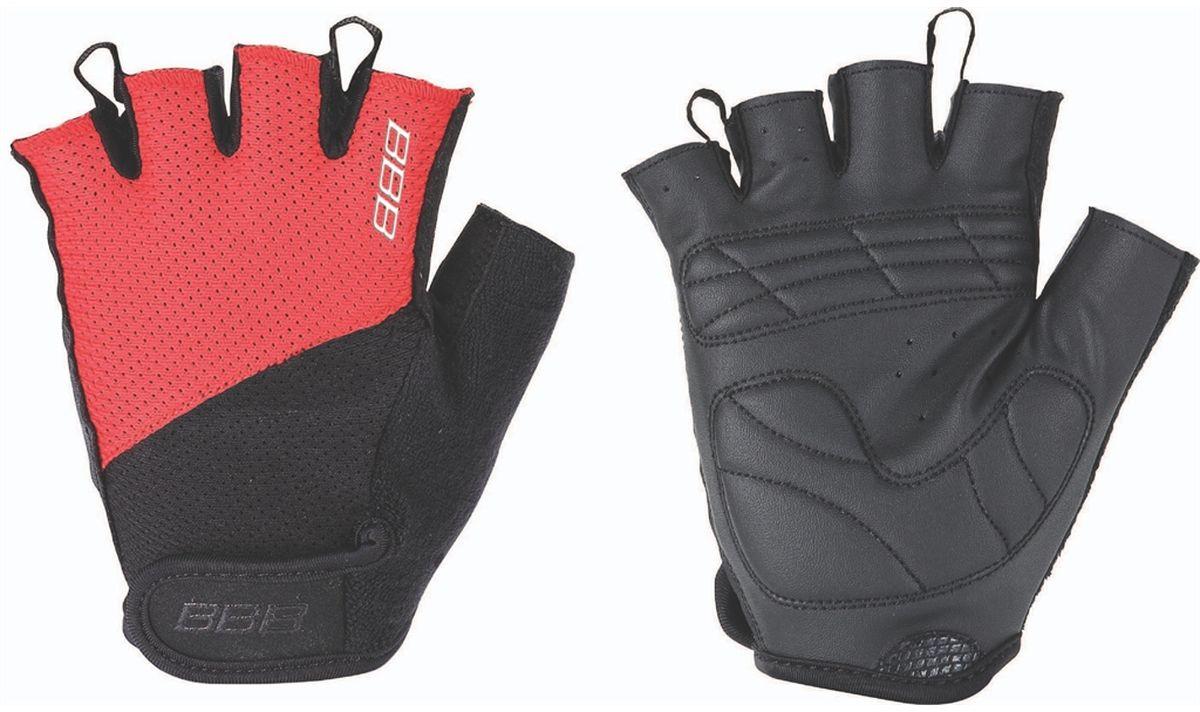 Перчатки велосипедные BBB Chase, цвет: черный, красный. BBW-49. Размер M улитка wonny zx 090 велосипедные перчатки антискользящие шок летние дышащие перчатки перчатки перчатки синий m