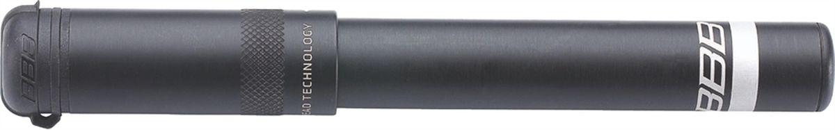"""Насос велосипедный BBB """"EasyRoad"""", цвет: черный, 185 мм"""