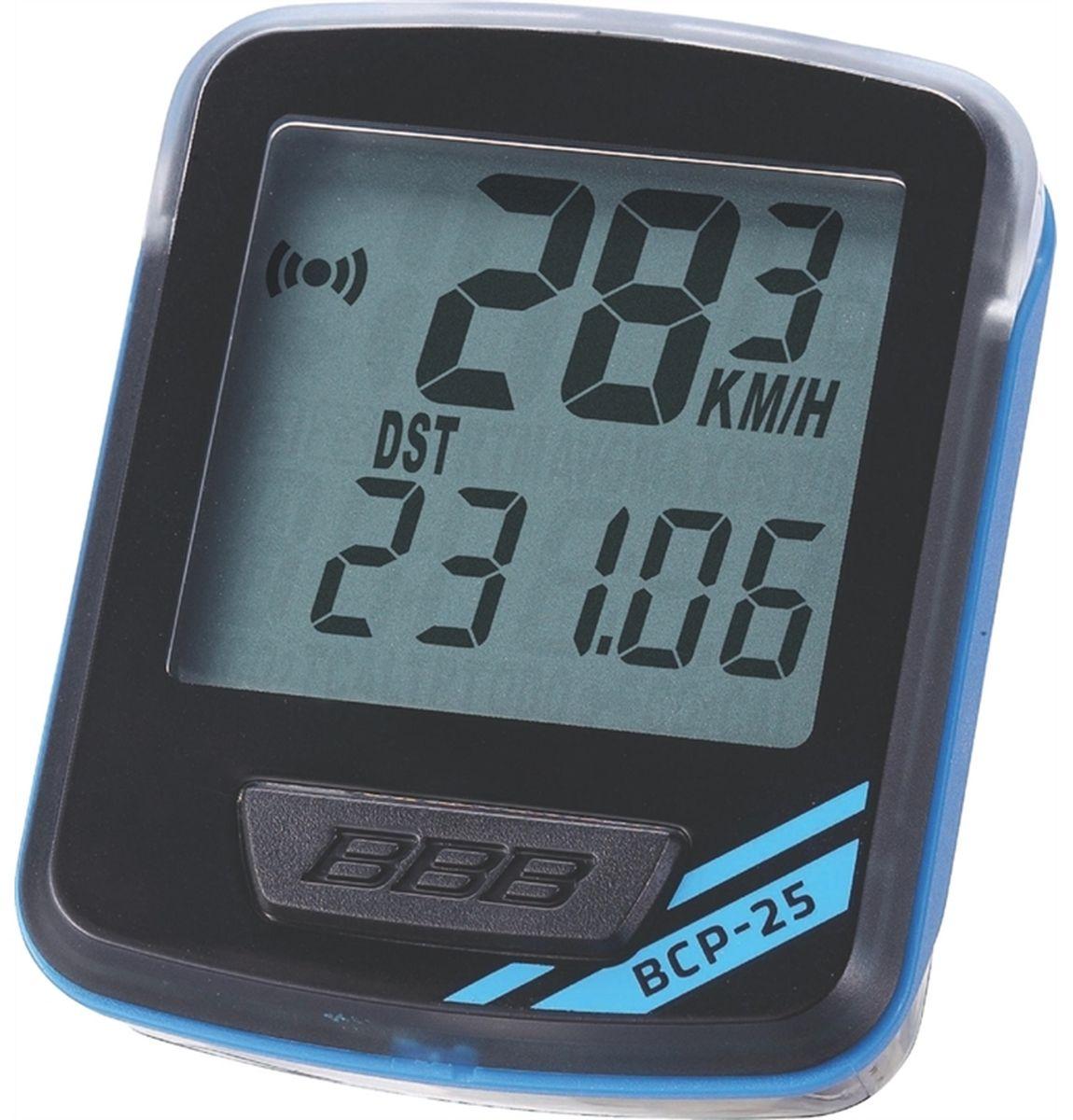 """Велокомпьютер BBB """"NanoBoard"""", цвет: черный, синий, 7 функций"""