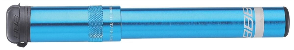 """Насос велосипедный BBB """"EasyRoad"""", цвет: синий, 185 мм"""