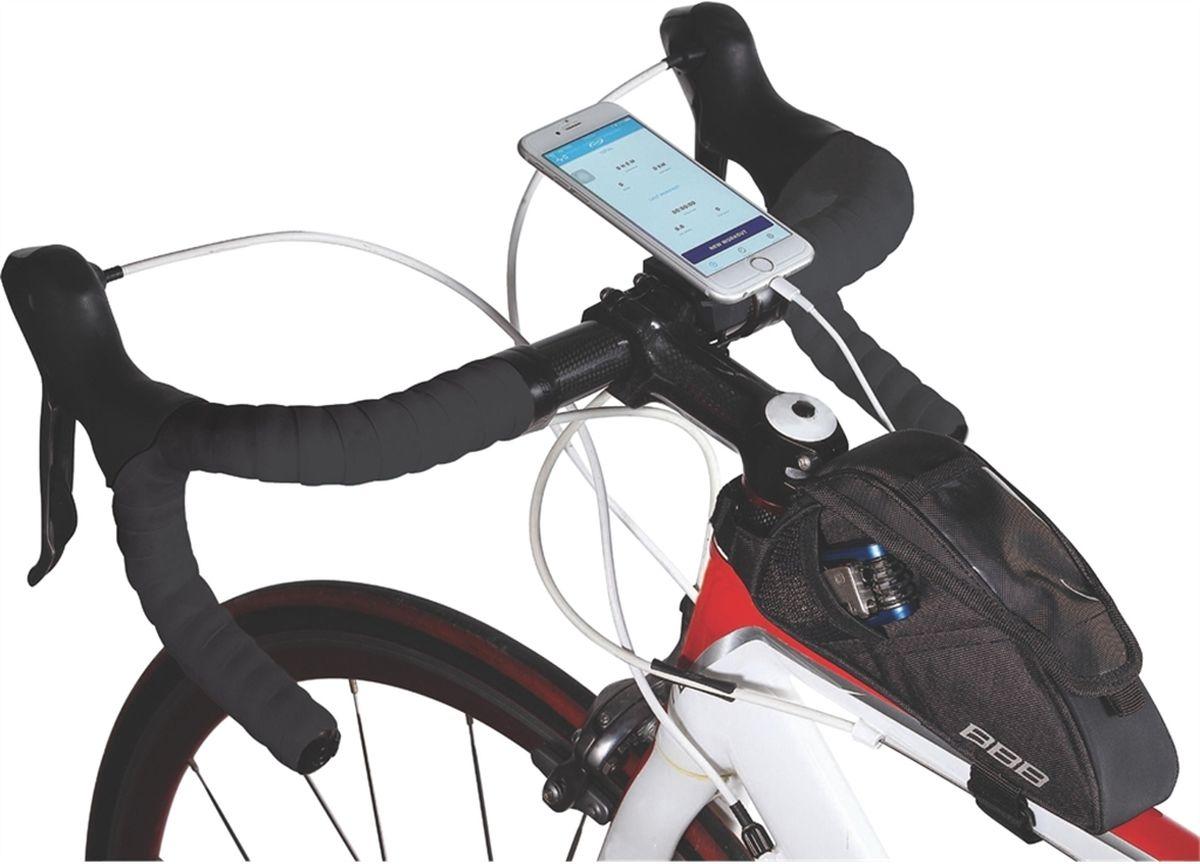 Велосумка под раму BBB TubeFuelPack, цвет: черный