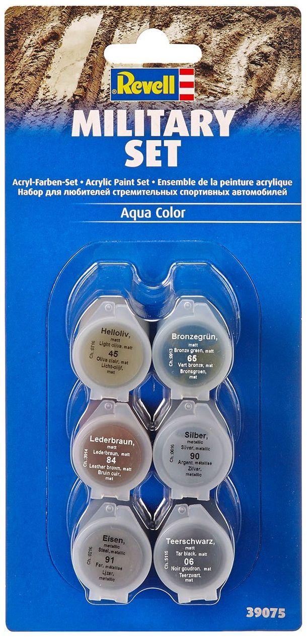 Revell Набор акриловых красок для моделизма Военная техника revell набор космический шатл атлантис revell