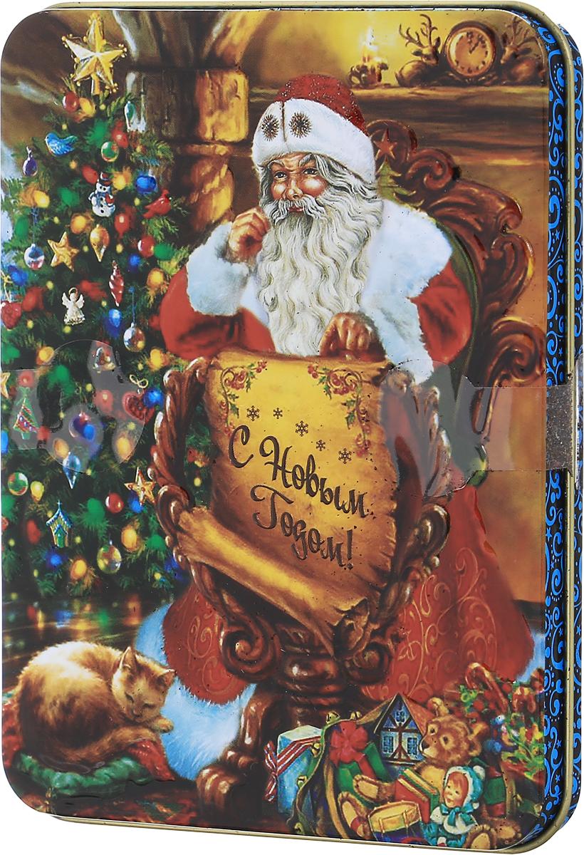 """Дольче Вита """"Письмо Деда мороза"""" черный листовой чай, 60 г"""