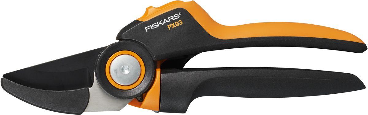 Секатор контактный Fiskars PowerGear L PX93 сучкорез fiskars большой контактный l l 77 112580